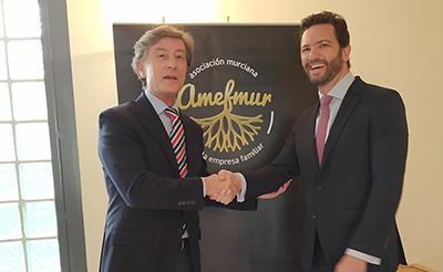 Banca March y AMEFMUR renuevan su colaboración para promover el desarrollo de la empresa familiar