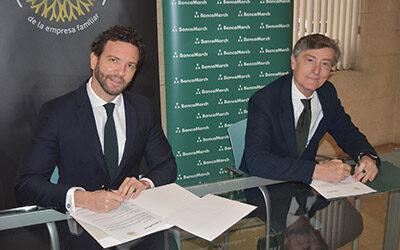 Renovación del acuerdo entre  Banca March y  AMEFMUR