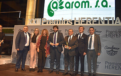 AMEFMUR entrega sus premios anuales en la noche de la Empresa Familiar reivindicando la implicación del colectivo con el desarrollo económico y social