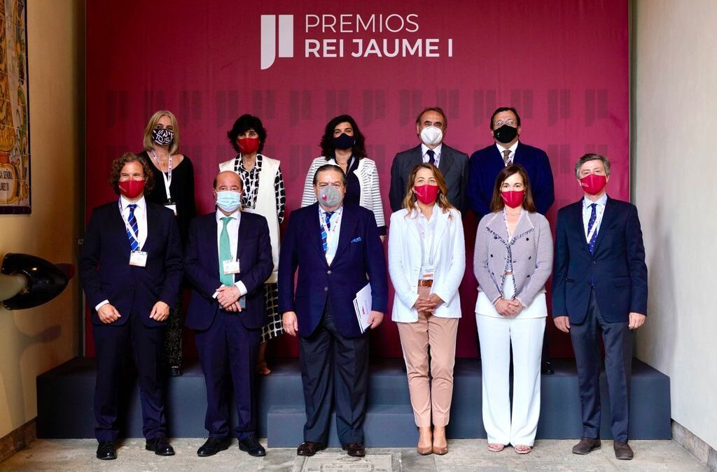 Jose María Tortosa, presidente de Amefmur, participó en la reunión del jurado de los Premios Rei Jaime I