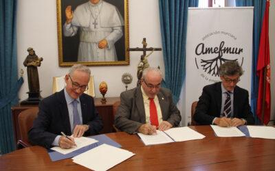 La UCAM crea una cátedra internacional para impulsar la empresa familiar junto a AMEFMUR y el Instituto de la Empresa Familiar