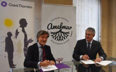 Amefmur y Grant Thornton continuarán asesorando a las empresas familiares